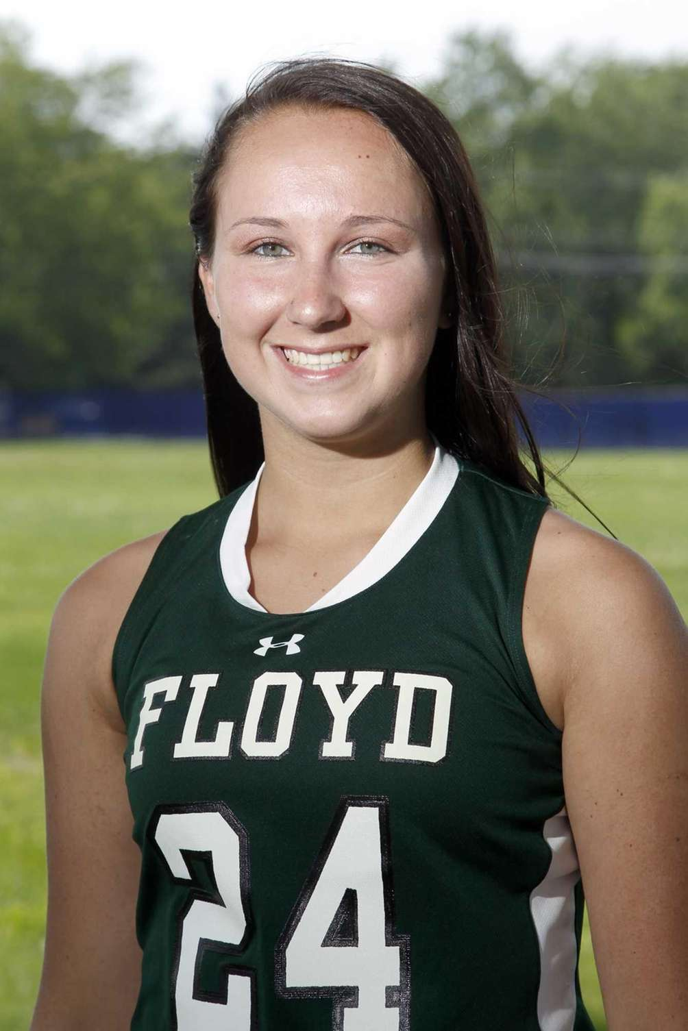 COURTNEY MURPHY Floyd, Midfielder, Sr. She tied for