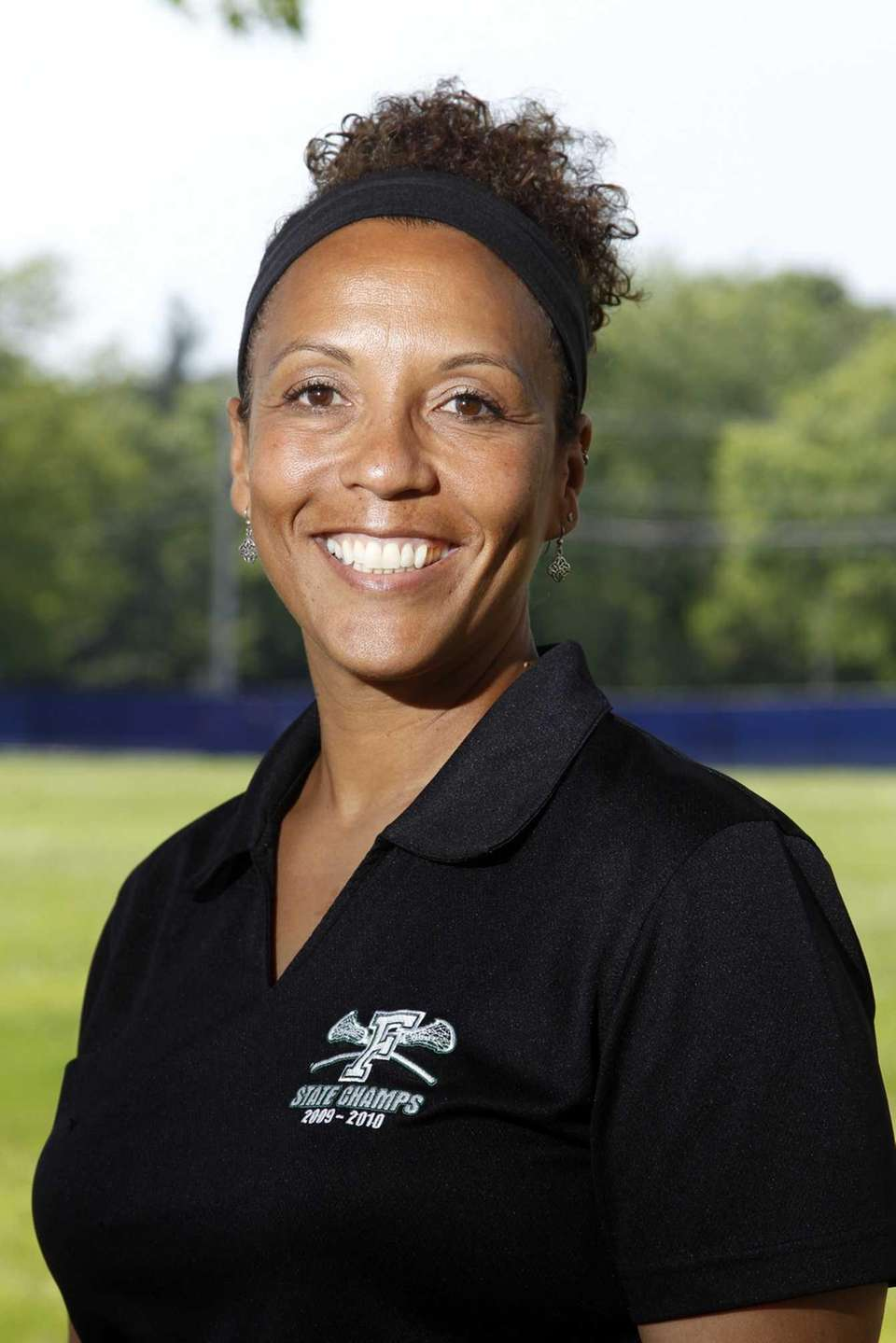SHARI CAMPBELL, Nassau Coach of the Year Farmingdale