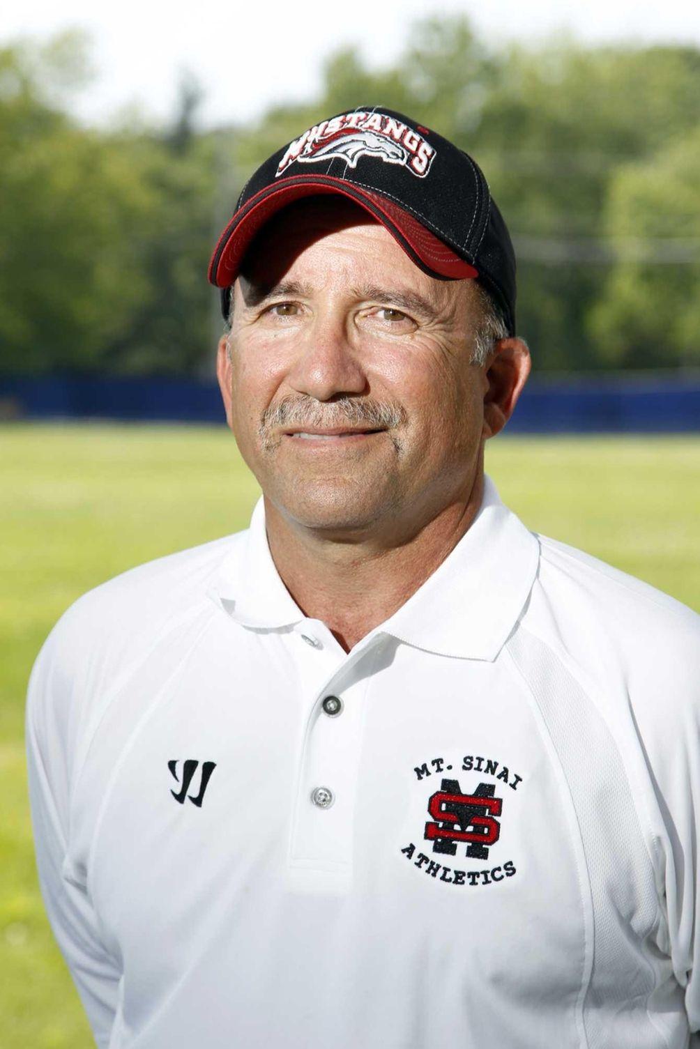 AL BERTOLONE, Suffolk Coach of the Year Mount