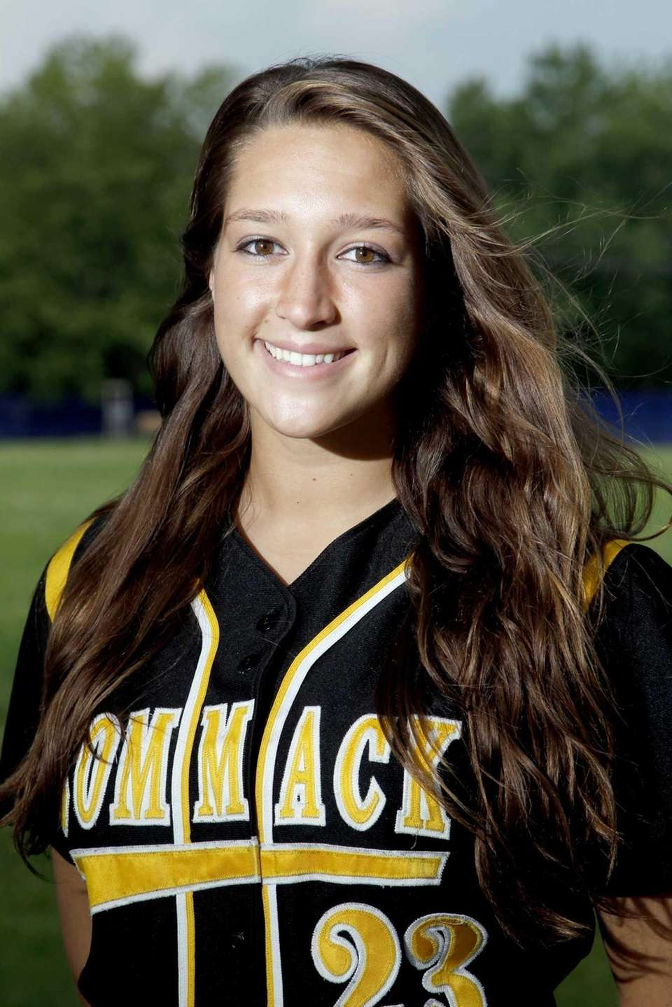 KIERSTEN CARLOMAGNO Pitcher, Commack, senior The two-time League