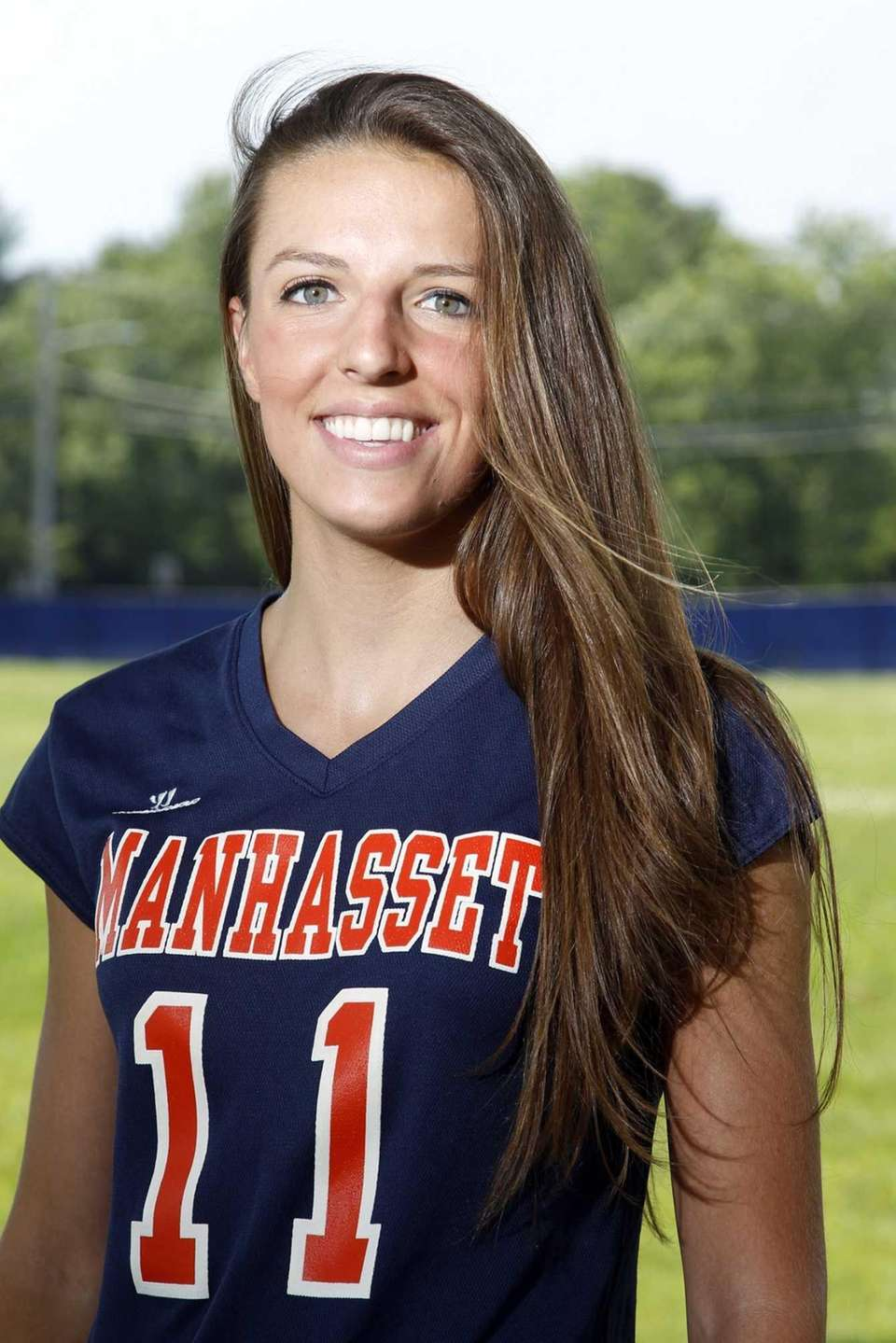 EMILY MARKHAM Manhasset, Defender, Sr. With an athletic