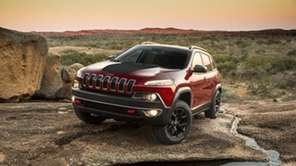 The 2014 Jeep Cherokee's Trailhawk trim is the