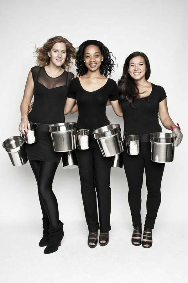Oyster Girls Hamptons is a catering service that