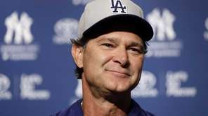 Los Angeles Dodgers manager Don Mattingly responds to