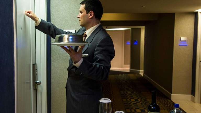 Will hotel room service check out? | Newsday