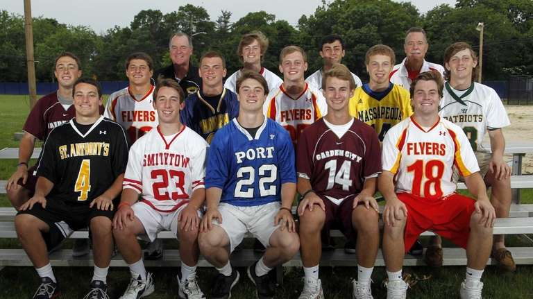 2013 All-Long Island Boys Lacrosse First Team (front
