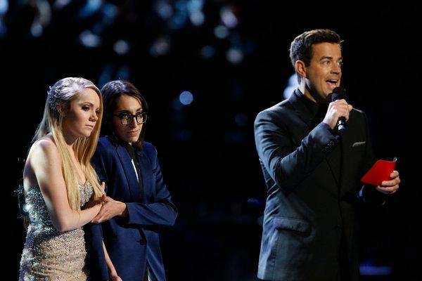 Season 4 finalists Danielle Bradbery, left, and Michelle