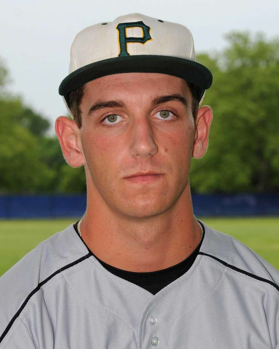JOE FLYNN Third baseman/Pitcher, Ward Melville, sophomore Flynn
