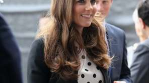 Kate the Duchess of Cambridge at the inauguration