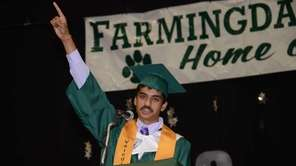 Farmingdale High School's 2013 valedictorian Nakul Gupta, 17,