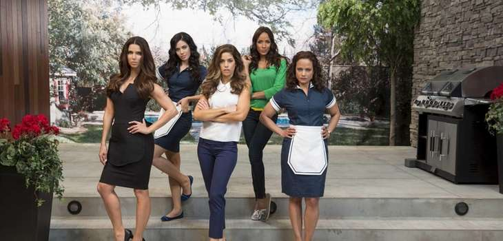 From left, Roselyn Sanchez, Edy Ganem, Ana Ortiz,