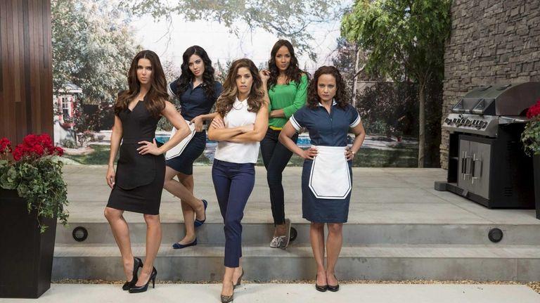 From left, Roselyn Sanchez, Edy Ganem, Ana Ortiz,