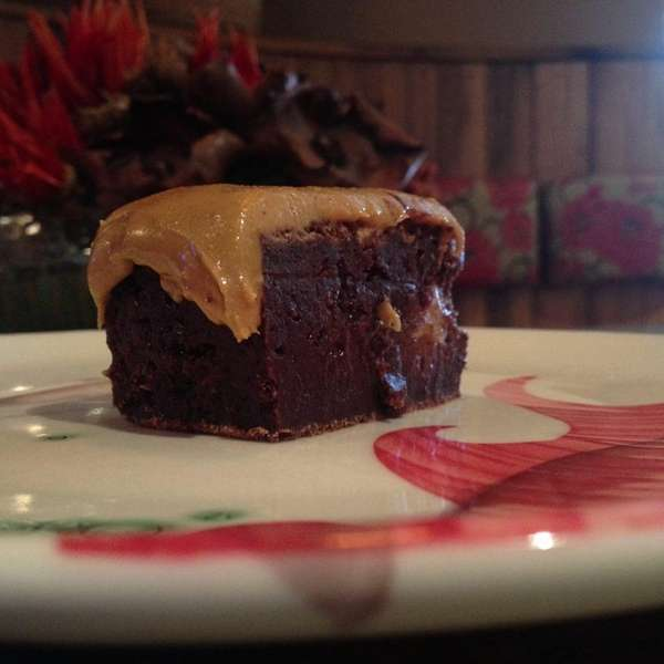 The Elvis brownie is a specialty at Sip