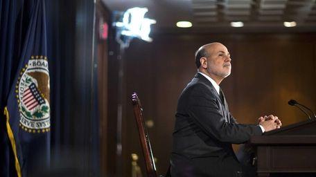 Federal Reserve chairman Ben Bernanke's long-awaited news conference