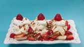 A banana split with dulce de leche and
