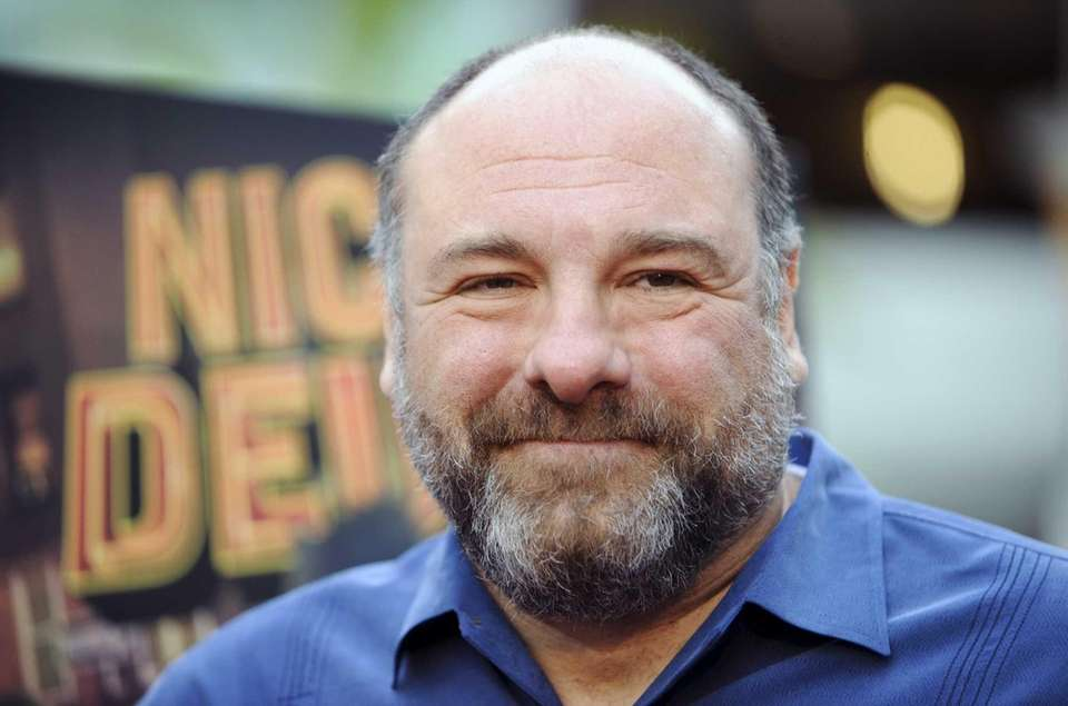 "James Gandolfini at the LA premiere of ""Nicky"