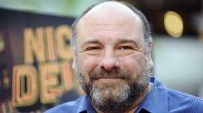 James Gandolfini at the LA premiere of