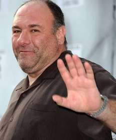 "James Gandolfini attends ""IRIS, A Journey Through the"