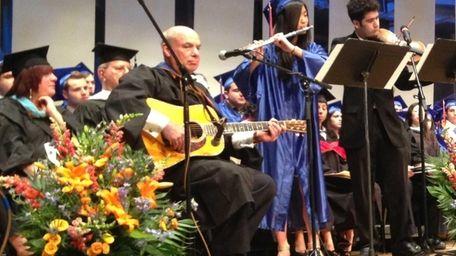 Great Neck North High School Principal Bernard Kaplan,
