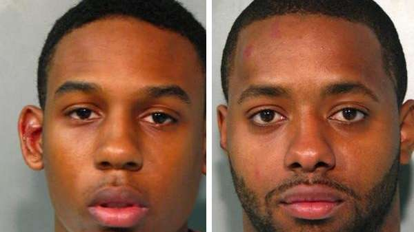 Christian Hines, 20, of Hempstead, and Lloyd Davis,