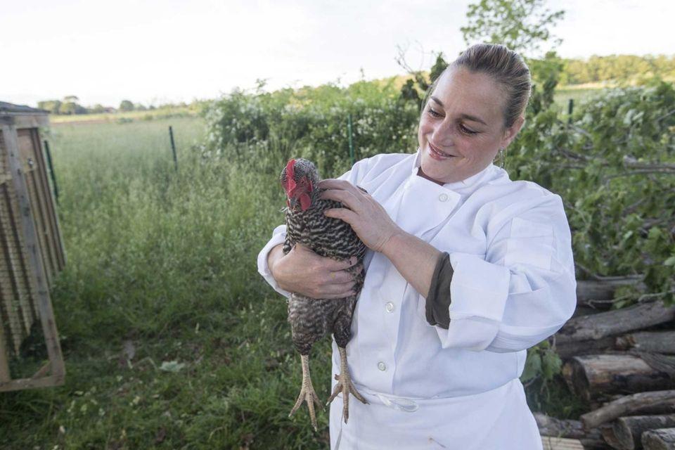 Executive chef Lia Fallon at the historic Jedediah