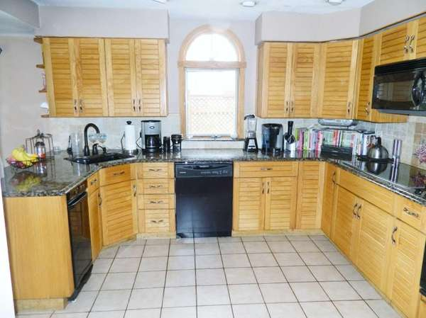 The kitchen in the Glenview Avenue home, on