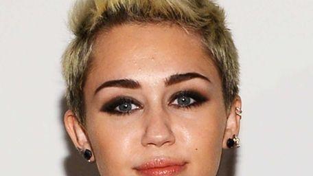 Miley Cyrus at the Rachel Zoe Fall 2013