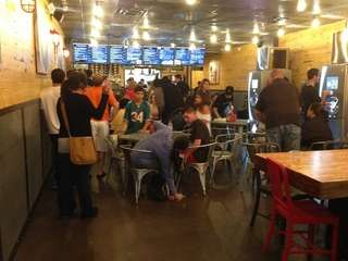The new BurgerFi in Woodbury draws a big