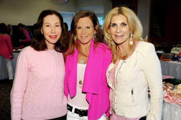 Marla Novick, Linda Florin and Kelly Gerber attend