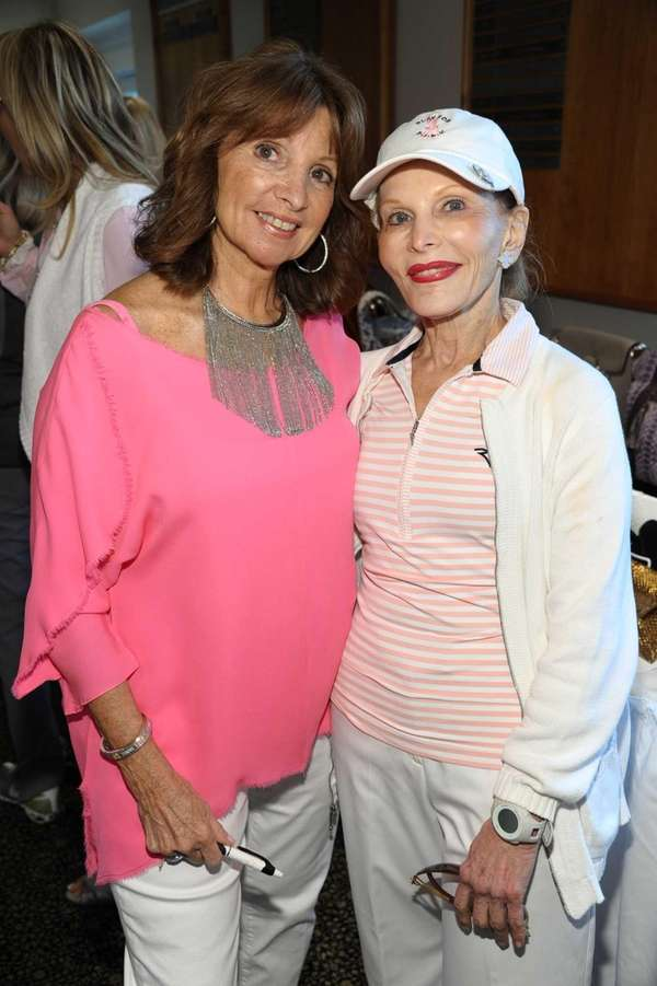 Carol Visconti and Sandy Teitelbaum attend the 14th