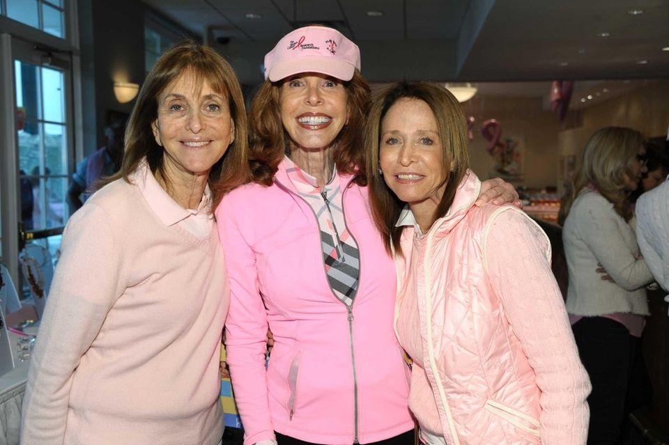 Phyllis Berman, Andrea Schlossberg and Paula Modell attend