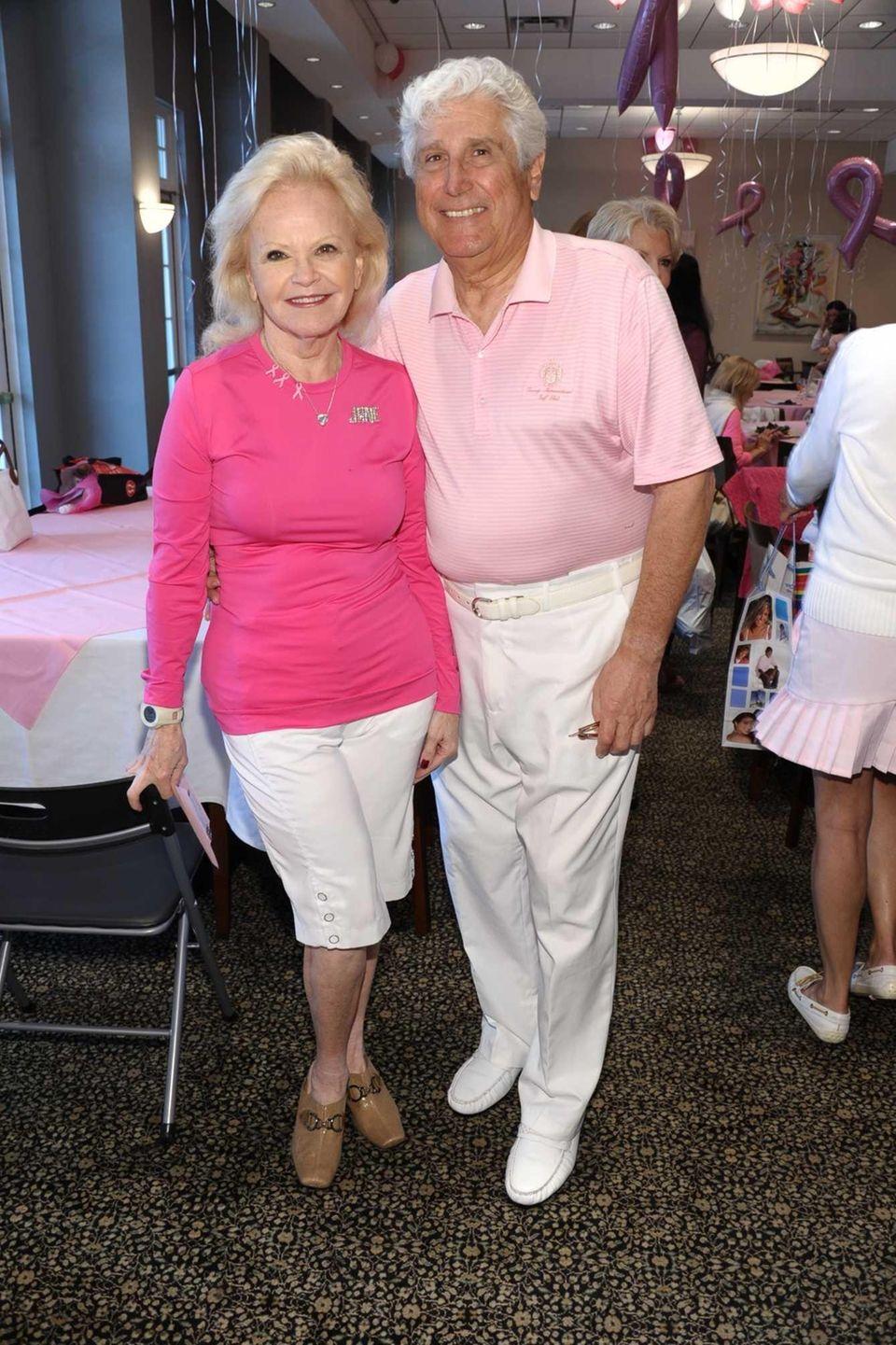 Chairperson Jane Pontarelli and Joe Pontarelli attend the