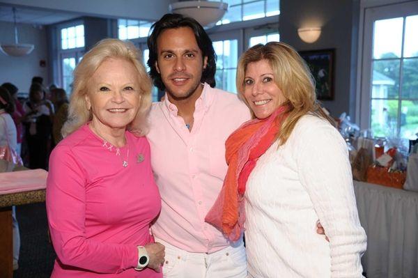 Jane Pontarelli, Steven Dann and Debbie Polk attend