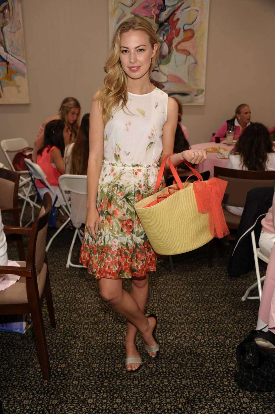 Marianna Gunther models at the14th Annual Play for