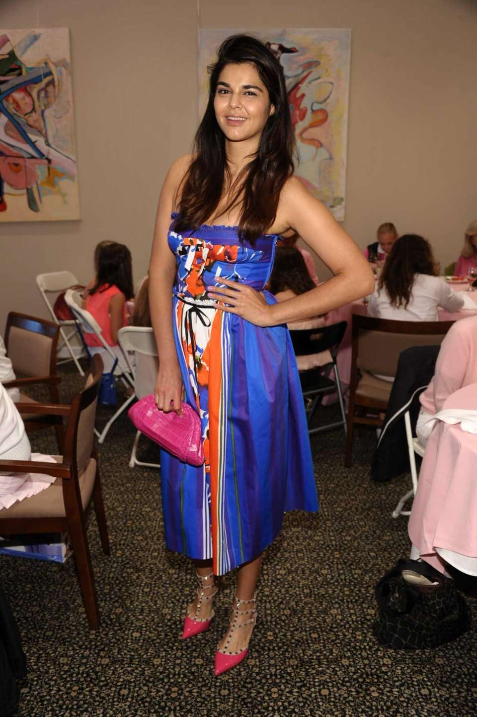 Monica Granillo models at the 14th Annual Play