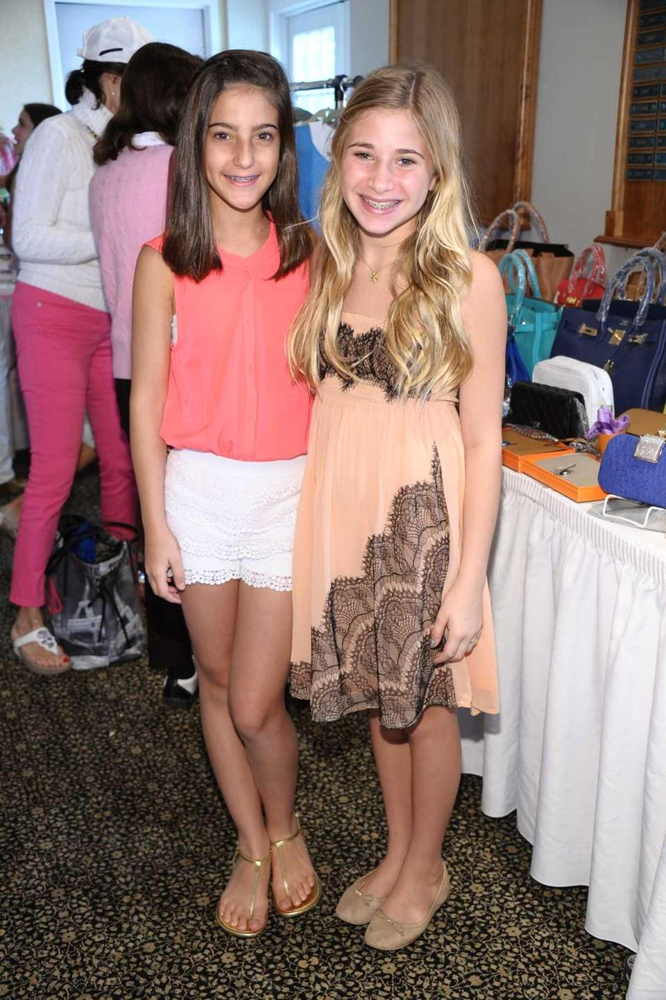 Jackie Glago and Isabella Katz attend the 14th