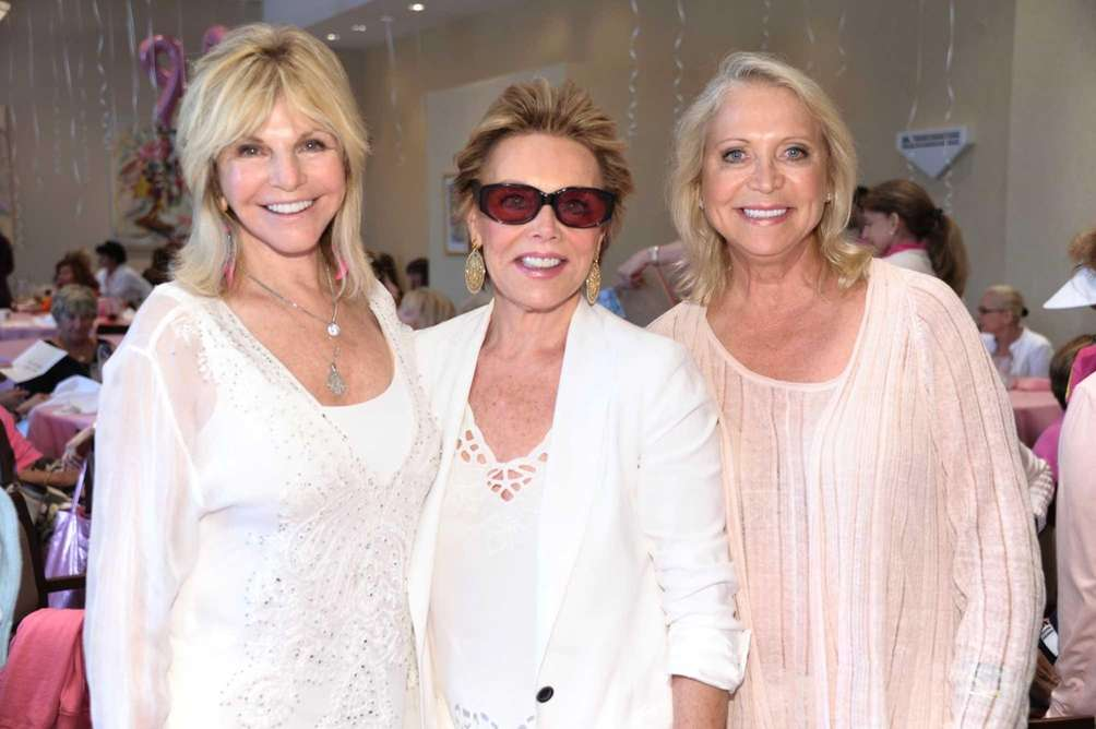 Judy Gilbert, Hedy Park and Suzan Kremer attend