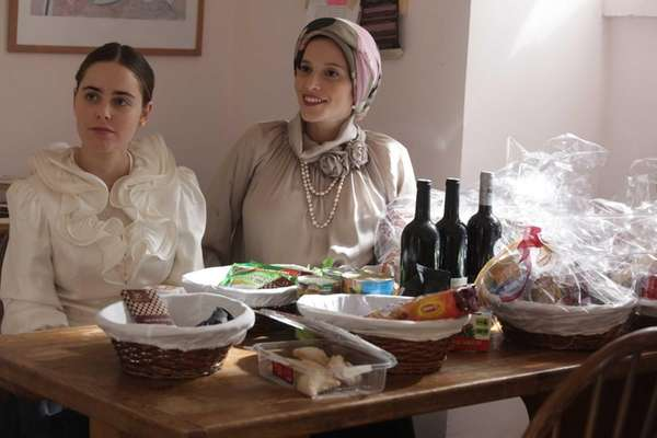From left, Hadas Yaron as Shira and Renana