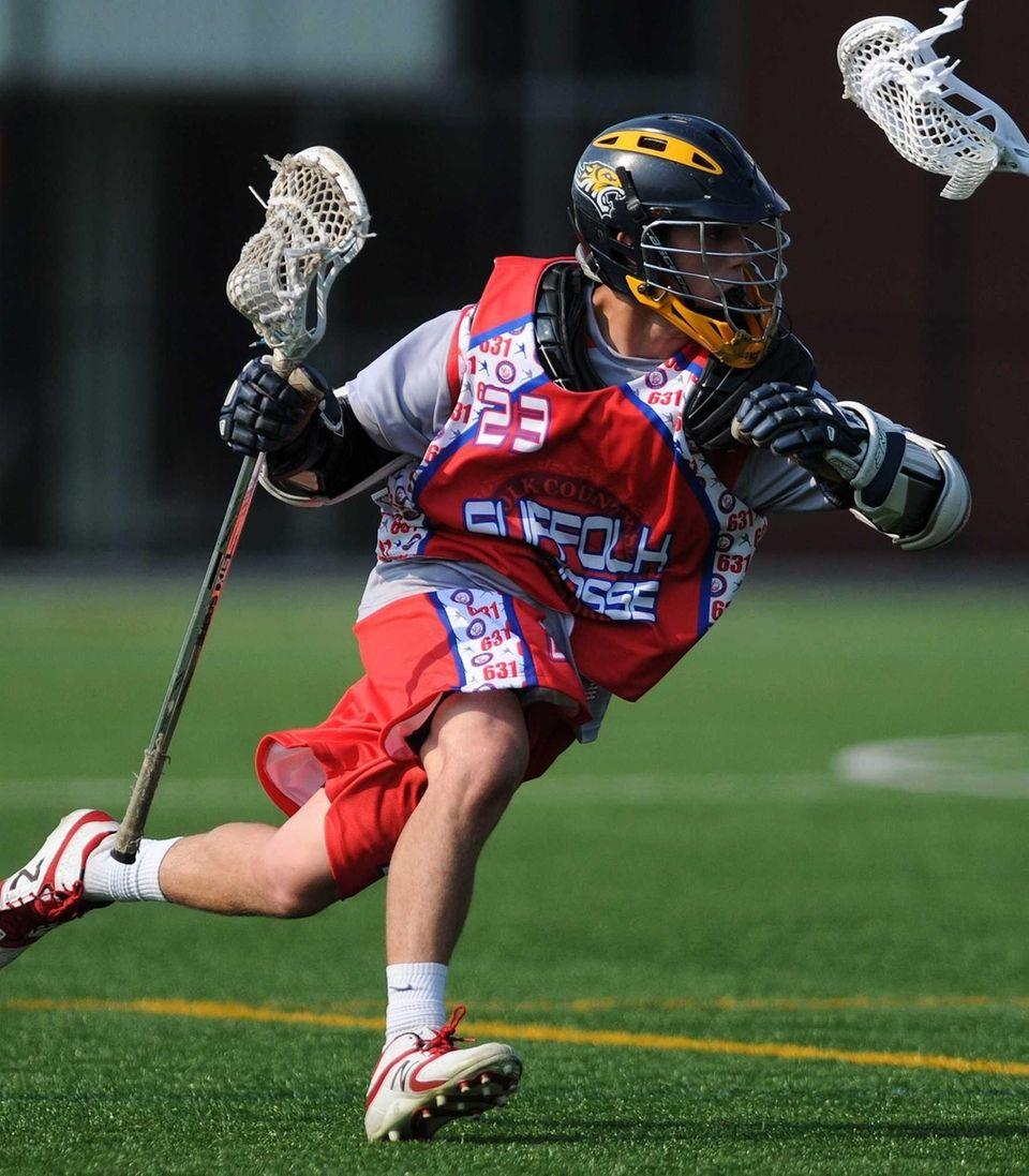 All-Long Island Boys Lacrosse Second Team Nick Aponte,