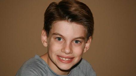 Peter Murphy, a 3rd grader at Shelter Rock