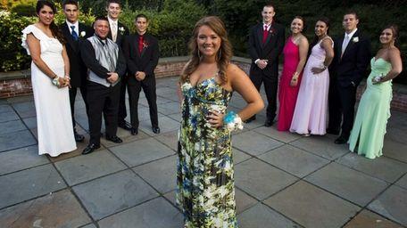 Danielle Trotta, 17, an 11th grade student Seaford