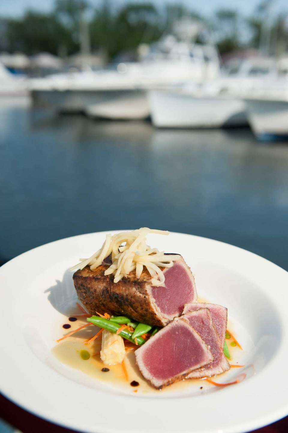 Citrus-soy tuna is served at Wildfish Restaurant in