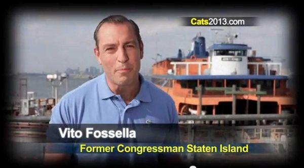 Catsimatidis ad features Vito Fossella.