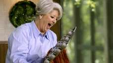 Celebrity chef Paula Deen on the Food Network.