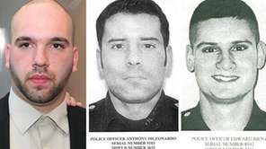 Cabdriver Thomas Moroughan, Nassau police officer Anthony DiLeonardo