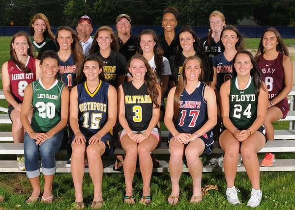 Newsday's 2013 All-Long Island girls lacrosse team.