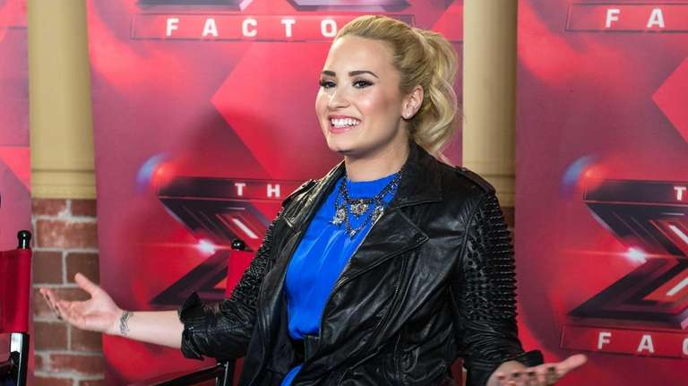 Demi Lovato at an