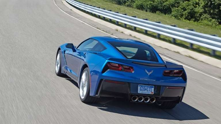 The 2014 Chevrolet Corvette Stingray, equipped with the
