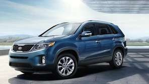 The mid-cycle refresh for the 2014 Kia Sorento