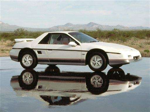 General Motors released the first Pontiac Fiero in